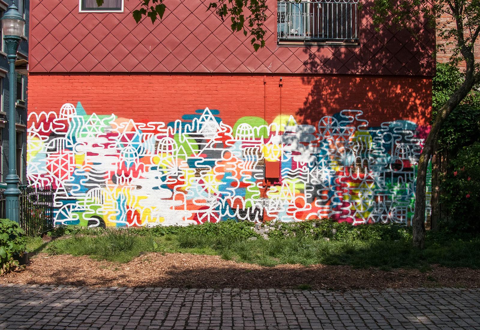 Cincinnati mural mike perry studio for Cincinnatus mural
